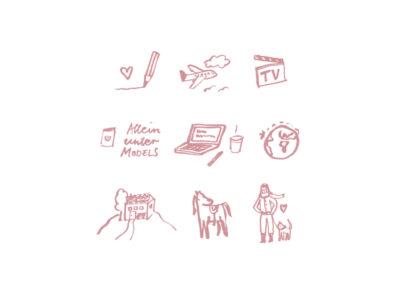 Illustrationen für Chantal Schreiber - Autorin