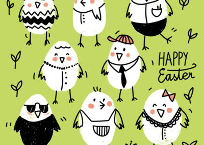 Illustration Happy Easter