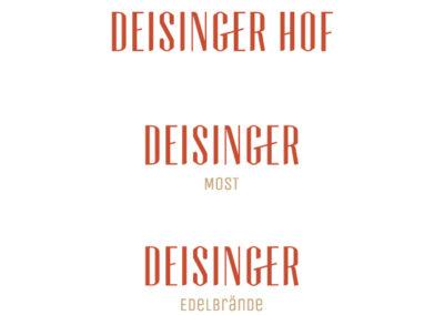 Logos Deisinger Hof
